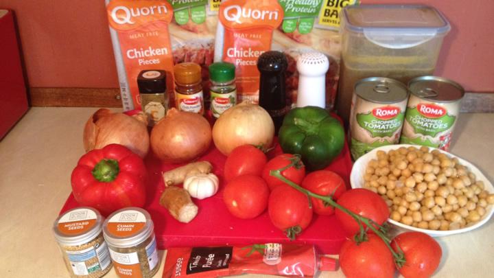 Vegetarian recipe 1